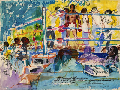 Timeline | LeRoy Neiman Foundation Bobby Hull Jr